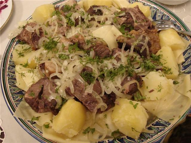 Казахские блюда из мяса рецепты